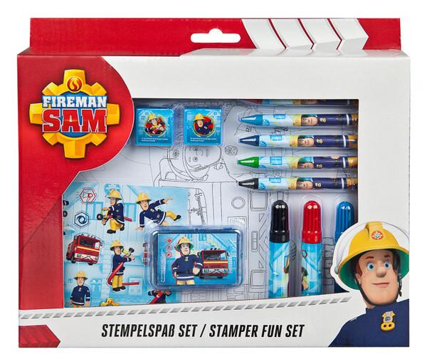 Feuerwehrmann Sam I Stempelspaß - Set 26-teilig
