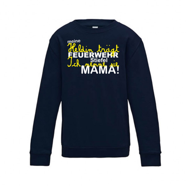 Kinder Pullover I Mama die Heldin