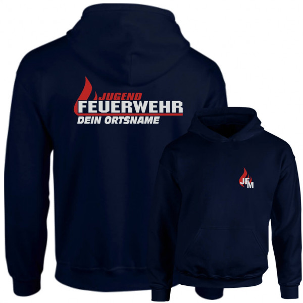 Hoodie JFW I JFW Flamme +Ortsname