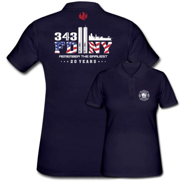 Poloshirt Frauen I 9/11 20 Years Anniversary