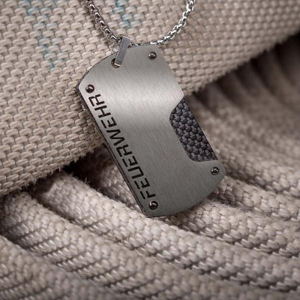 Halskette I Carbon (+Gravur)