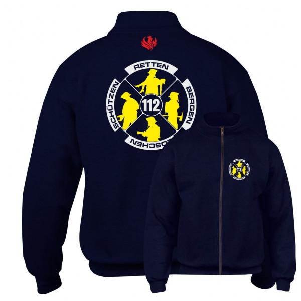 Sweatjacke I Feuerwehr Logo