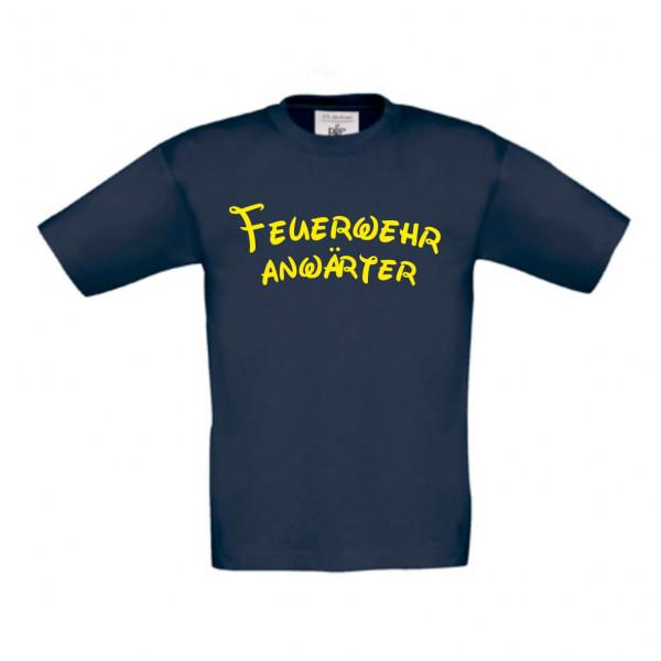 Kinder Shirt kurz I Feuerwehranwärter