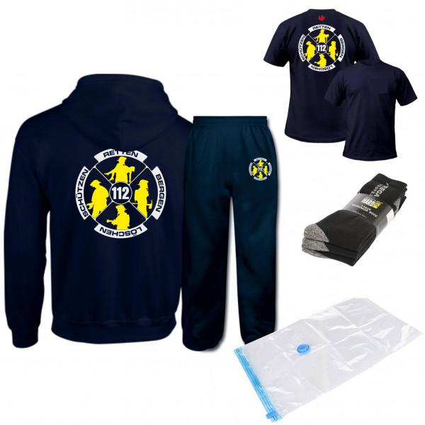 AGT Anzug Set I Feuerwehr Logo