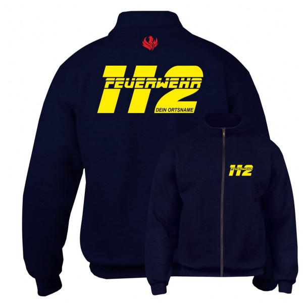 Sweatjacke I FW 112 +Ortsname