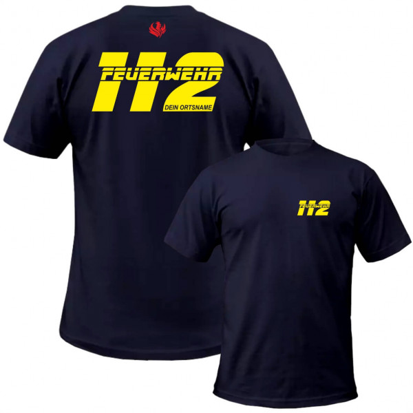 Tshirt Männer I FW 112 +Ortsname