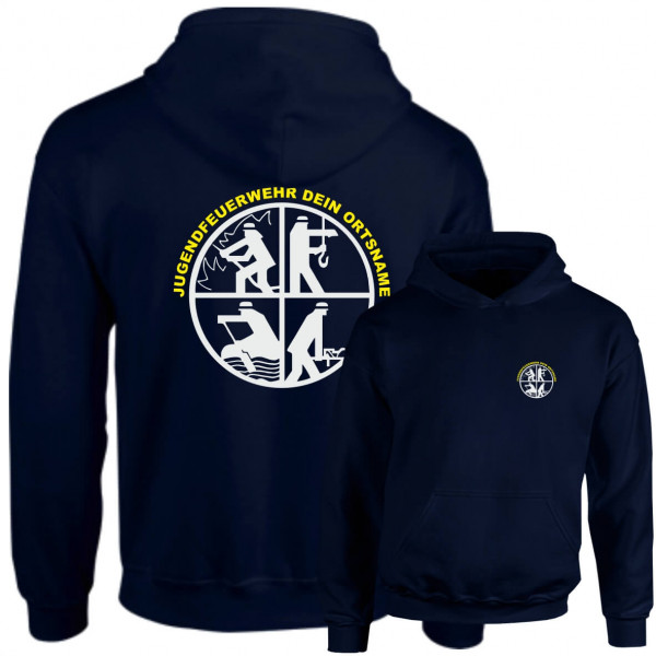 Hoodie JFW I JFW Signet +Ortsname