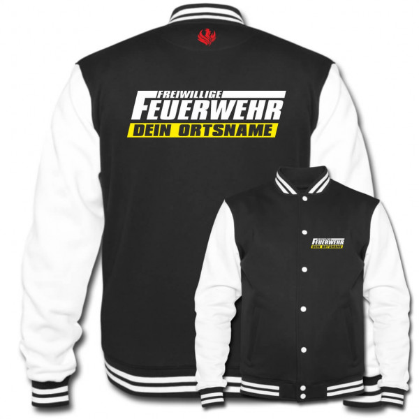 Collegejacke I FFW +Ortsname