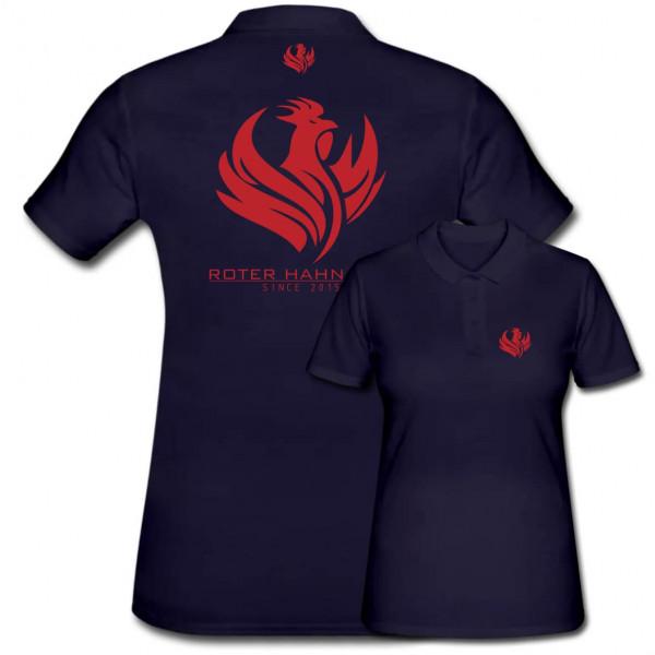 Poloshirt Frauen I Roter Hahn 112