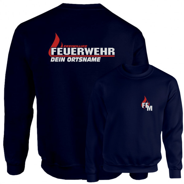 Pullover I FW Flamme +Ortsname