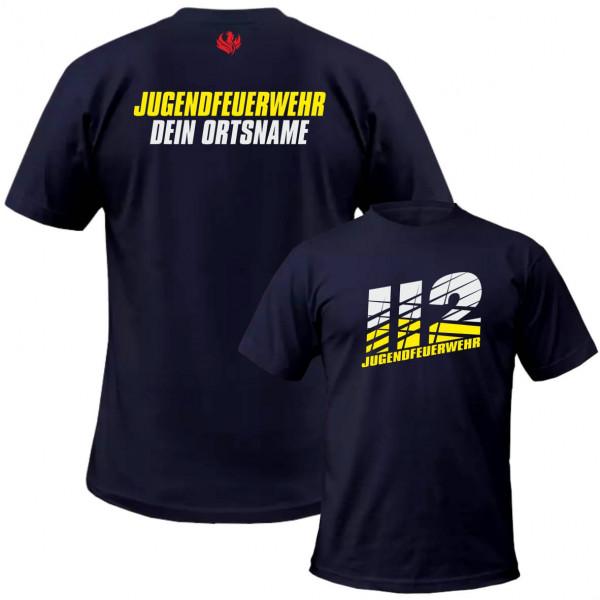 Tshirt JFW I JFW 112 Sliced +Ortsname