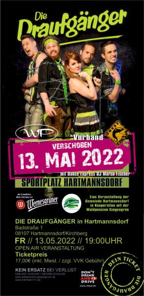 Ticket I Die Draufgänger 13.05.2022