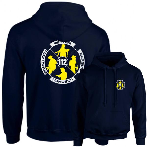 Hoodie I Feuerwehr Logo