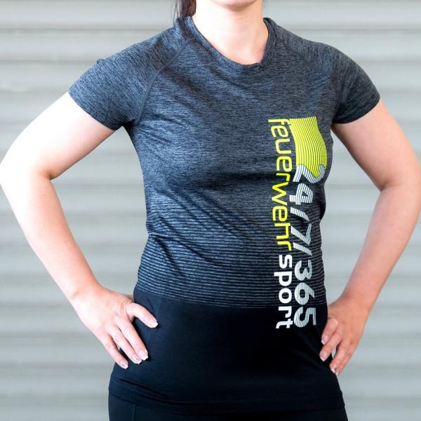 Feuerwehr I Sport-Shirt Frauen Grau