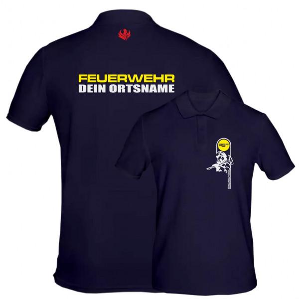 Poloshirt Männer I AGT +Ortsname