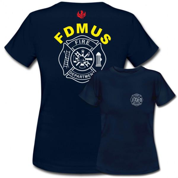Tshirt Frauen I FD Signet +Ortsname