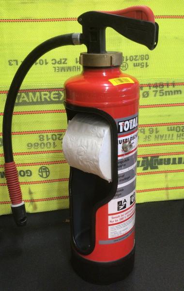 Feuerlöscher I Toilettenpapier Spender