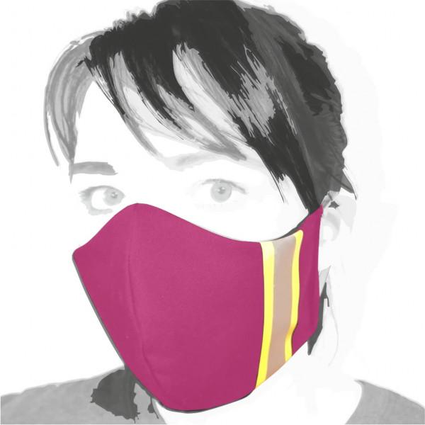 Gesichtsmaske I Pink