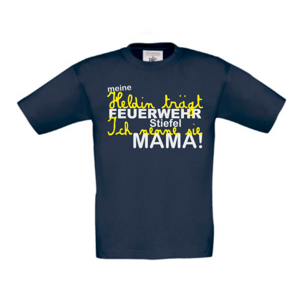 Baby Shirt kurz I Papa der Held