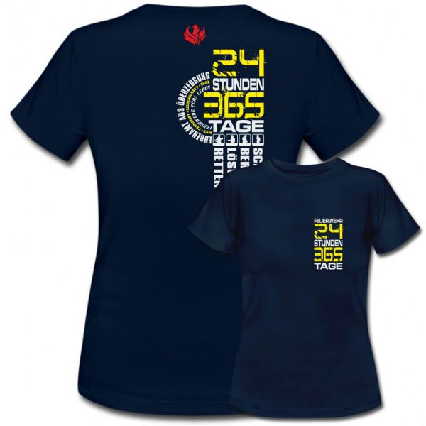 Tshirt Frauen I 24h 365 Tage