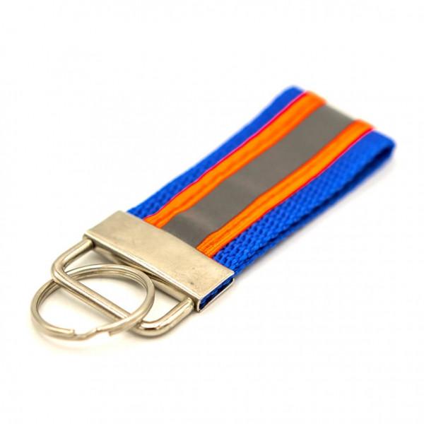 Schlüsselanhänger I JFW Blau Orange Reflex
