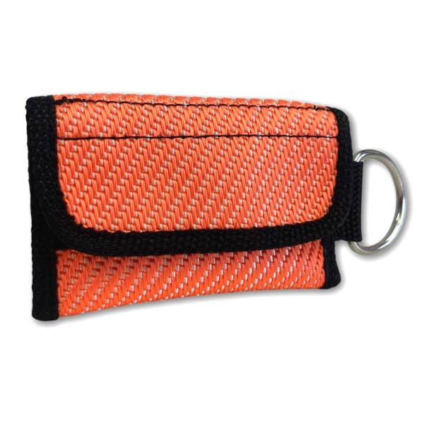 Schlüsseltasche I Schlauch Orange