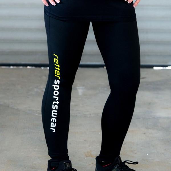 Retter I Sport-Leggings Frauen Schwarz