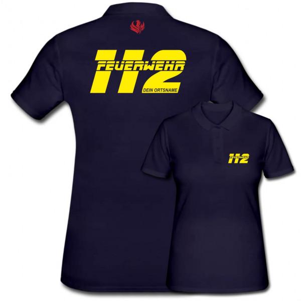 Poloshirt Frauen I FW 112 +Ortsname