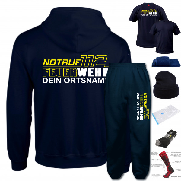 AGT Anzug Set I FW Notruf 112 +Ortsname