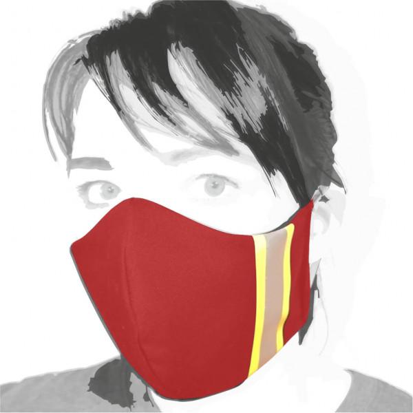 Gesichtsmaske I Rot