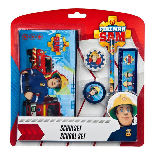 Feuerwehrmann Sam I Schulset 5 teilig