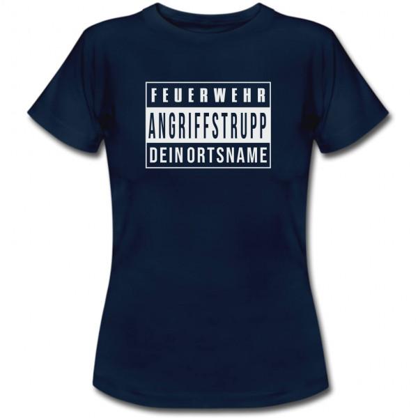 Tshirt Frauen I AGT +Ortsname