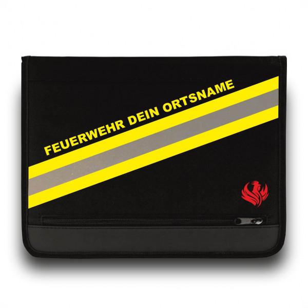Schreibmappe I HUPF Feuerwehr +Ortsname