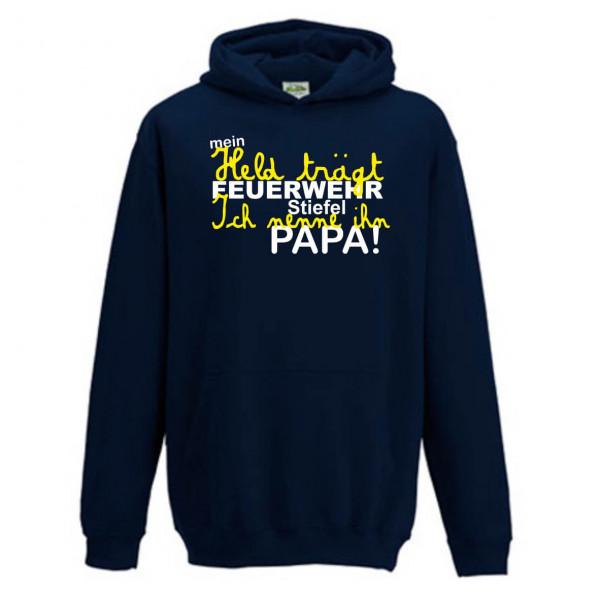Kinder Hoodie I Papa der Held