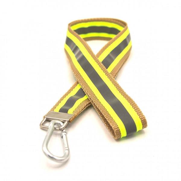 Schlüsselband I Gold Gelb Reflex