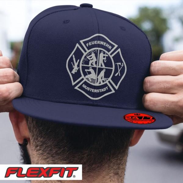 Flexfit® Snapback I FW Signet +Ortsname