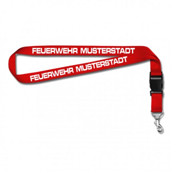 Schlüsselband I Feuerwehr +Ortsname
