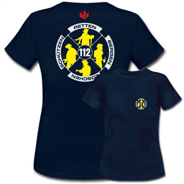 Tshirt Frauen I Feuerwehr Logo