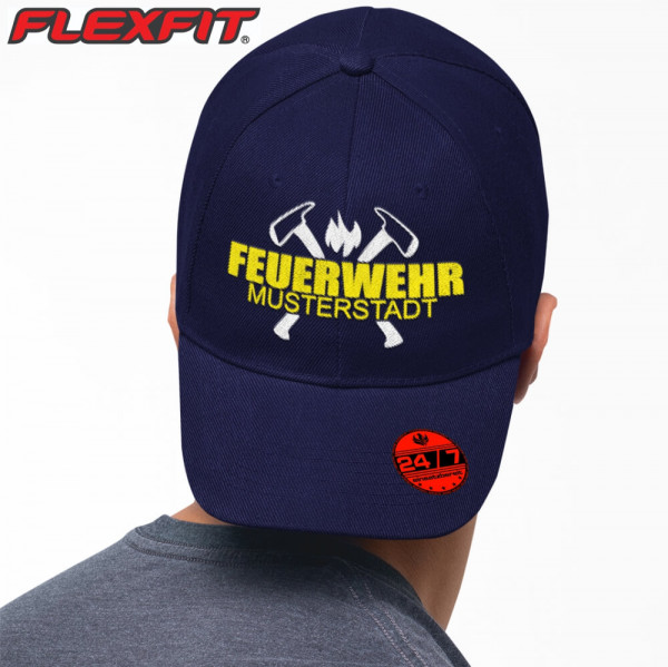 Flexfit® 5 Panel Cap I FW Axt +Ortsname