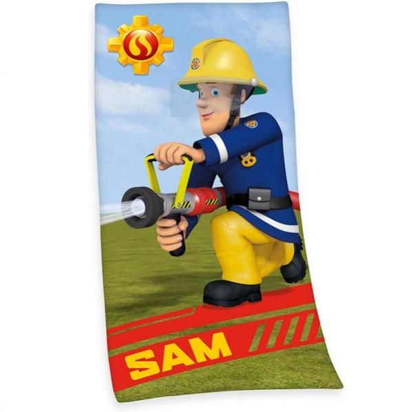 Feuerwehrmann Sam I Badetuch 75x150