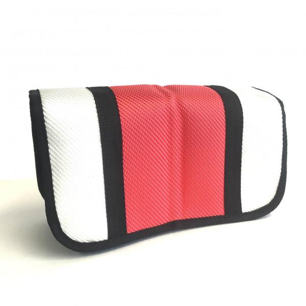Handtasche I Schlauch Rot/Weiss