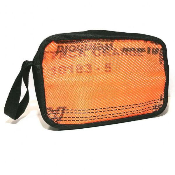 Kulturtasche I Schlauch Orange