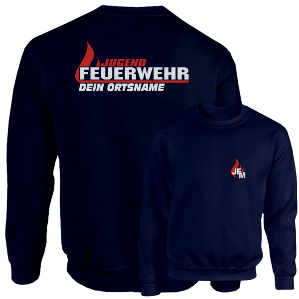 Pullover JFW I JFW Flamme +Ortsname