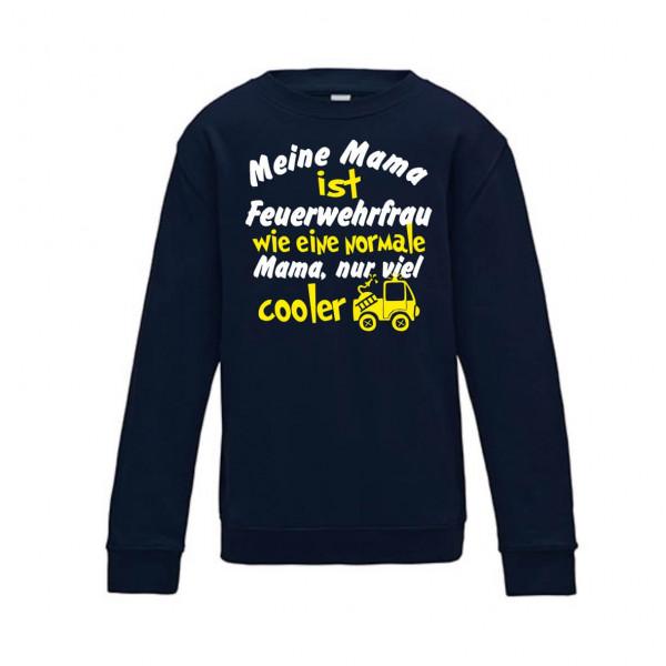 Kinder Pullover I Mama Feuerwehrfrau