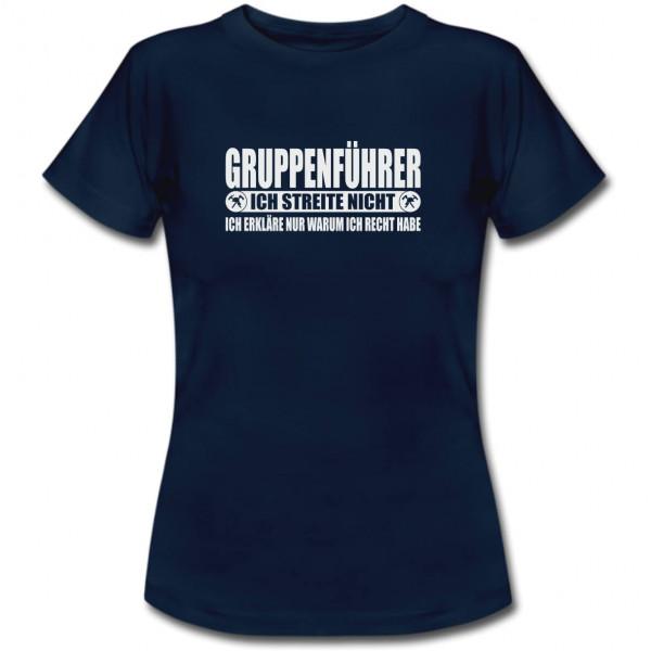 Tshirt Frauen I Gruppenführer Recht