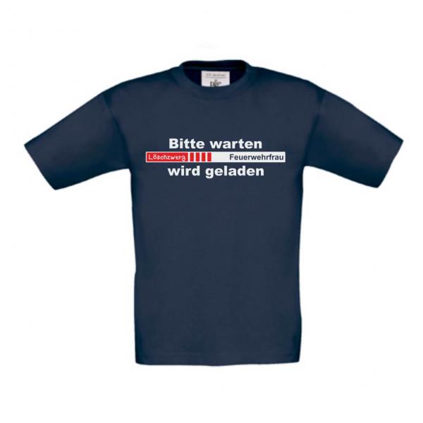 Kinder Shirt kurz I Feuerwehrfrau wird geladen