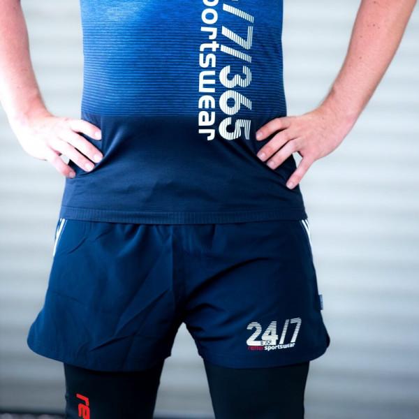 Retter I Sport-Short Männer Blau