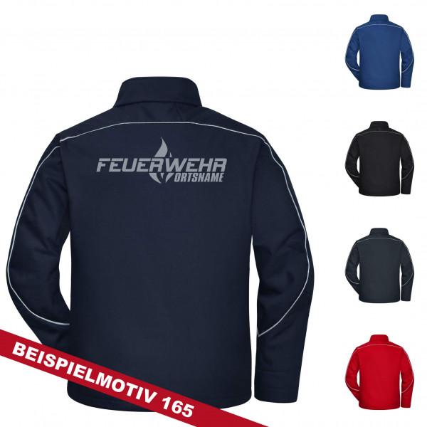 Teamwear Softshelljacke Solid