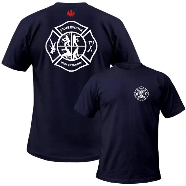Tshirt Männer I FW Signet +Ortsname