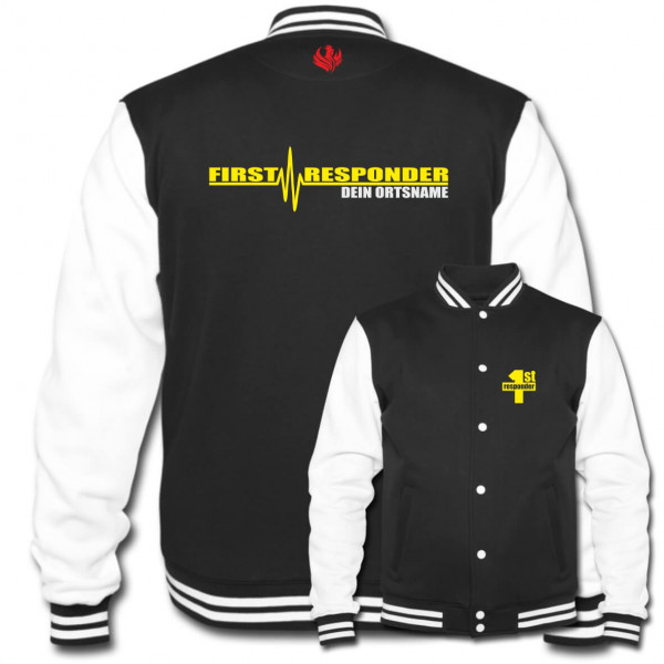 Collegejacke I First Responder +Ortsname